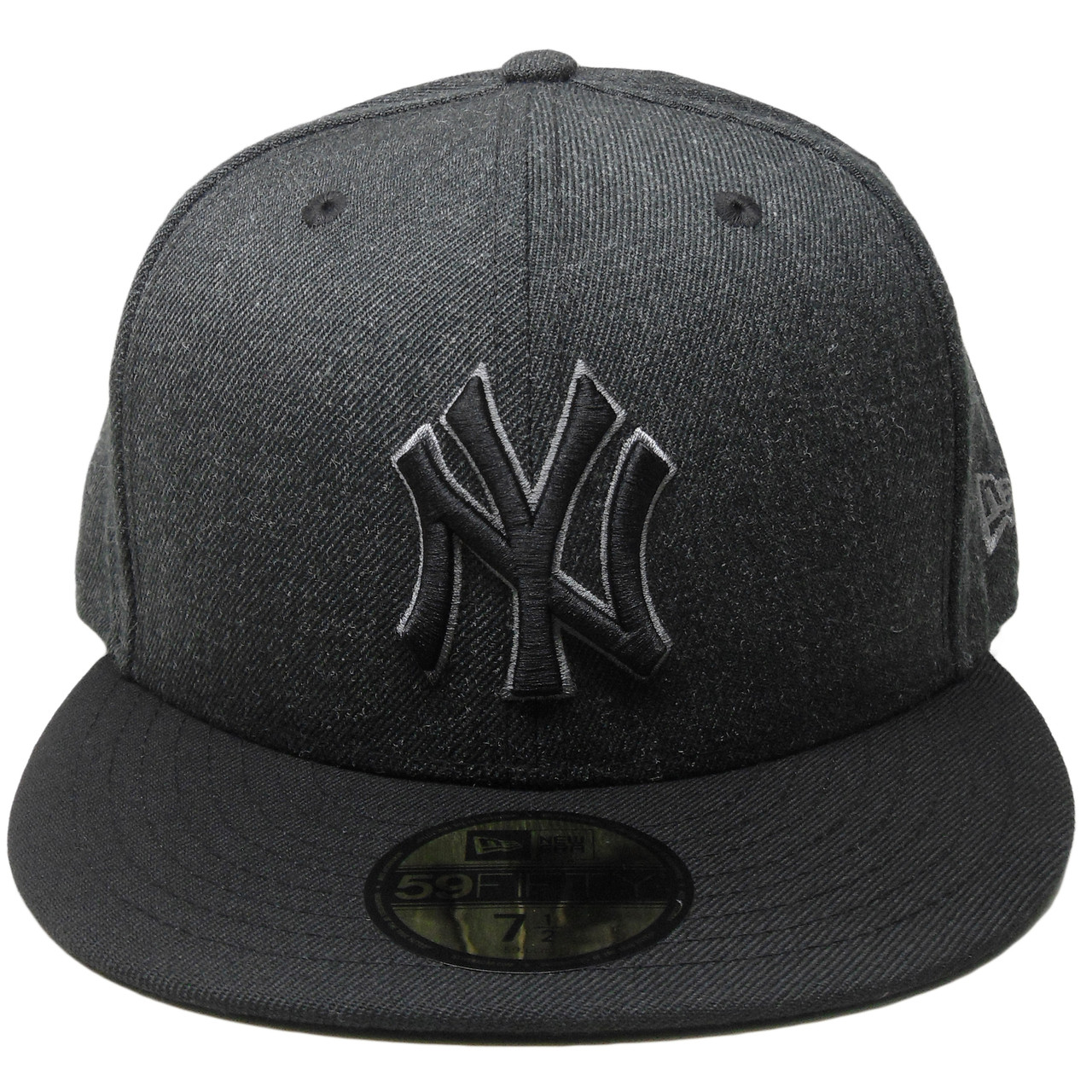 12bdad9aaf97f New York Yankees New Era Custom 59Fifty Fitted - Black Denim