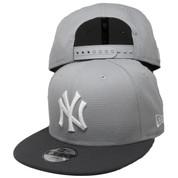 New York Yankees New Era Custom KIDS 9Fifty Snapback - Gray, Graphite, White