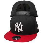 New York Yankees New Era Custom KIDS 9Fifty Snapback - Black, Red, White