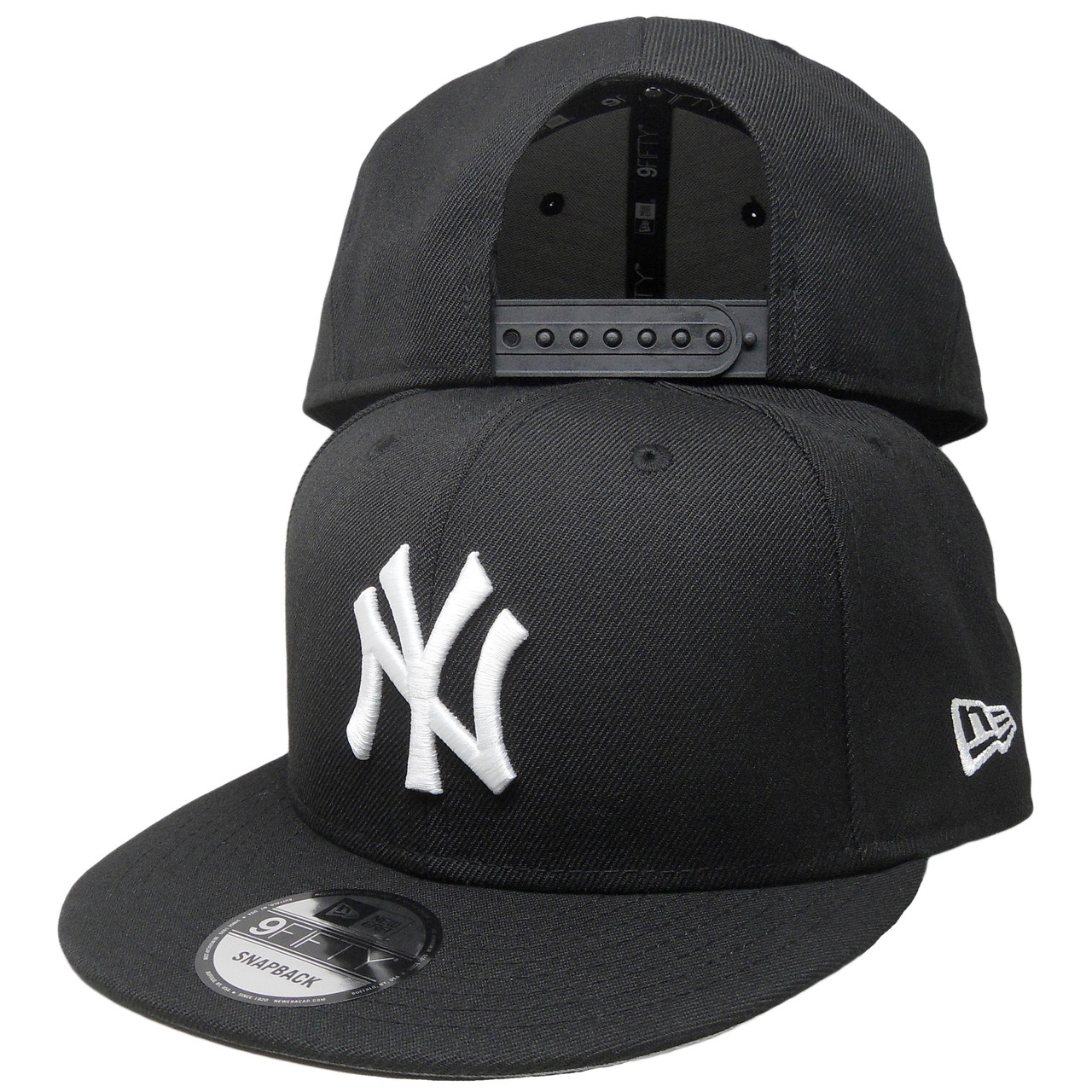 6c50641f9bd New York Yankees New Era Custom  NY  Side 9Fifty Snapback - Black ...