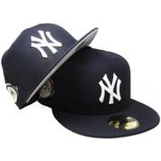 0f50c9e823a23 New York Yankees New Era Custom 100th Anniversary Fitted - Navy
