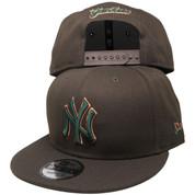 New York Yankees New Era Custom 9Fifty Snapback - Brown, Green, Copper