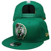 Boston Celtics New Era Triumph Turn 9Fifty Snapback - Green, White, Black, Gold