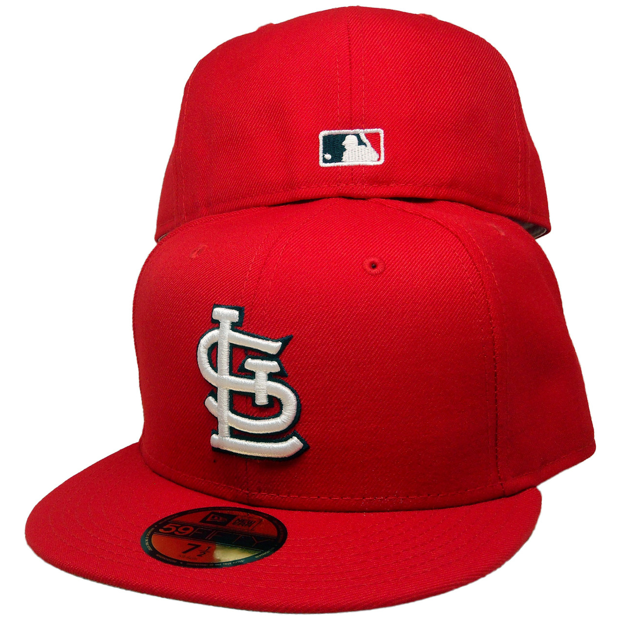 St. Louis Cardinals New Era Custom 59Fifty Fitted - Red 4f25336f0e4