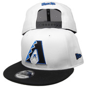Arizona Diamondbacks New Era Custom 9Fifty Snapback - White, Black, Royal Blue