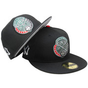 New York Yankees 1938 WS New Era Custom 59Fifty Fitted - Black, Green, Red