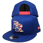 Puerto Rico New Era Custom 9Fifty Snapback Hat - Royal, White, Red, Gray