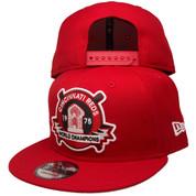 Cincinnati Reds 1976 WS New Era Custom 9Fifty Snapback - Red, Black, White