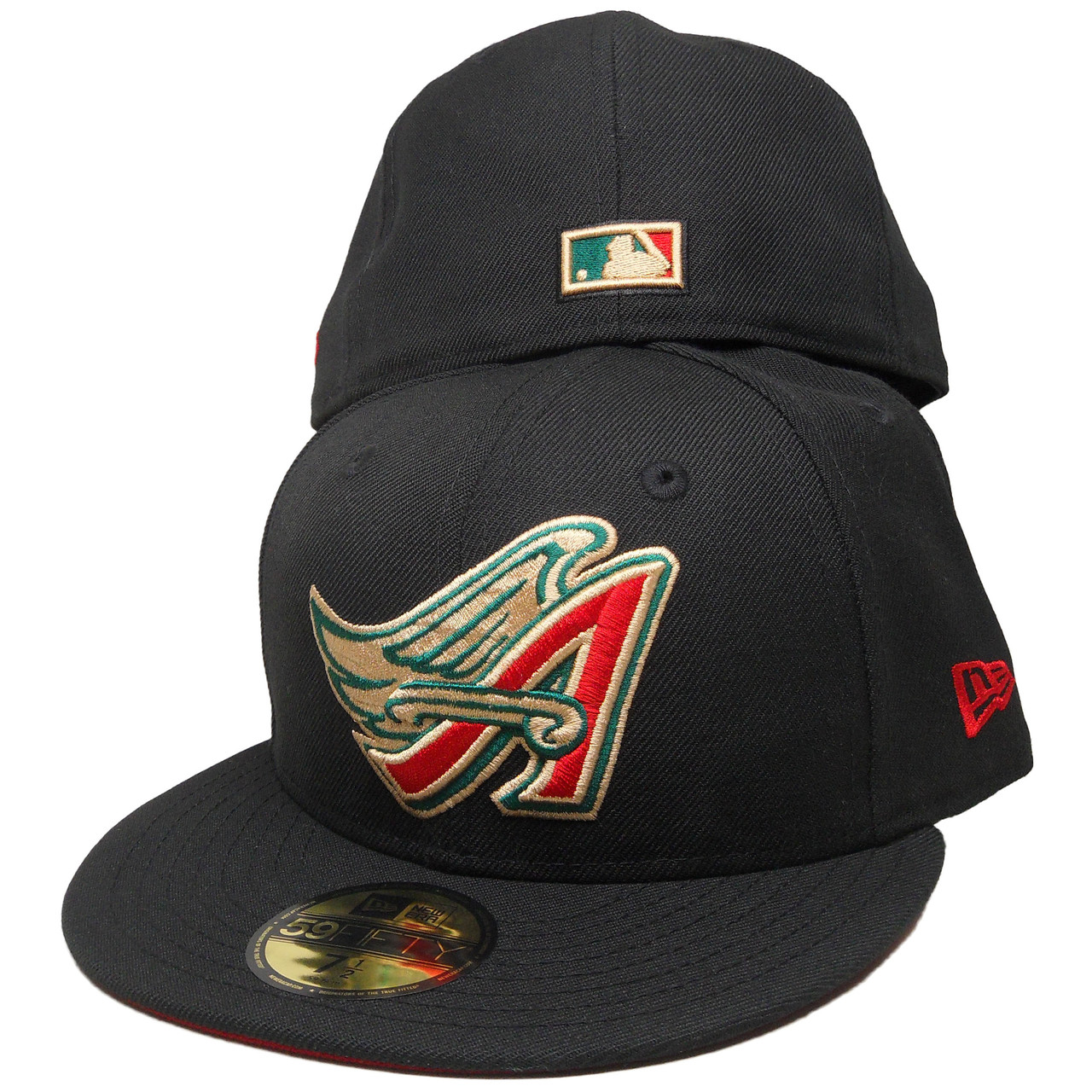 d45727a2c9bc13 Anaheim Angels New Era Custom 59Fifty Fitted - Gucci Colorway -  ECapsUnlimited.com