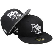 Puerto Rico New Era Custom Flag Logo 59Fifty Fitted - Black, White, Royal, Red