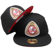 New York Yankees New Era Custom 50 WS 59Fifty Fitted - Black, Copper, Red, White