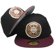 New York Yankees New Era Custom 28 WS 59Fifty Fitted - Black, Maroon, White