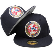 New York Yankees New Era Custom 49 WS 59Fifty Fitted - Navy, White, Red