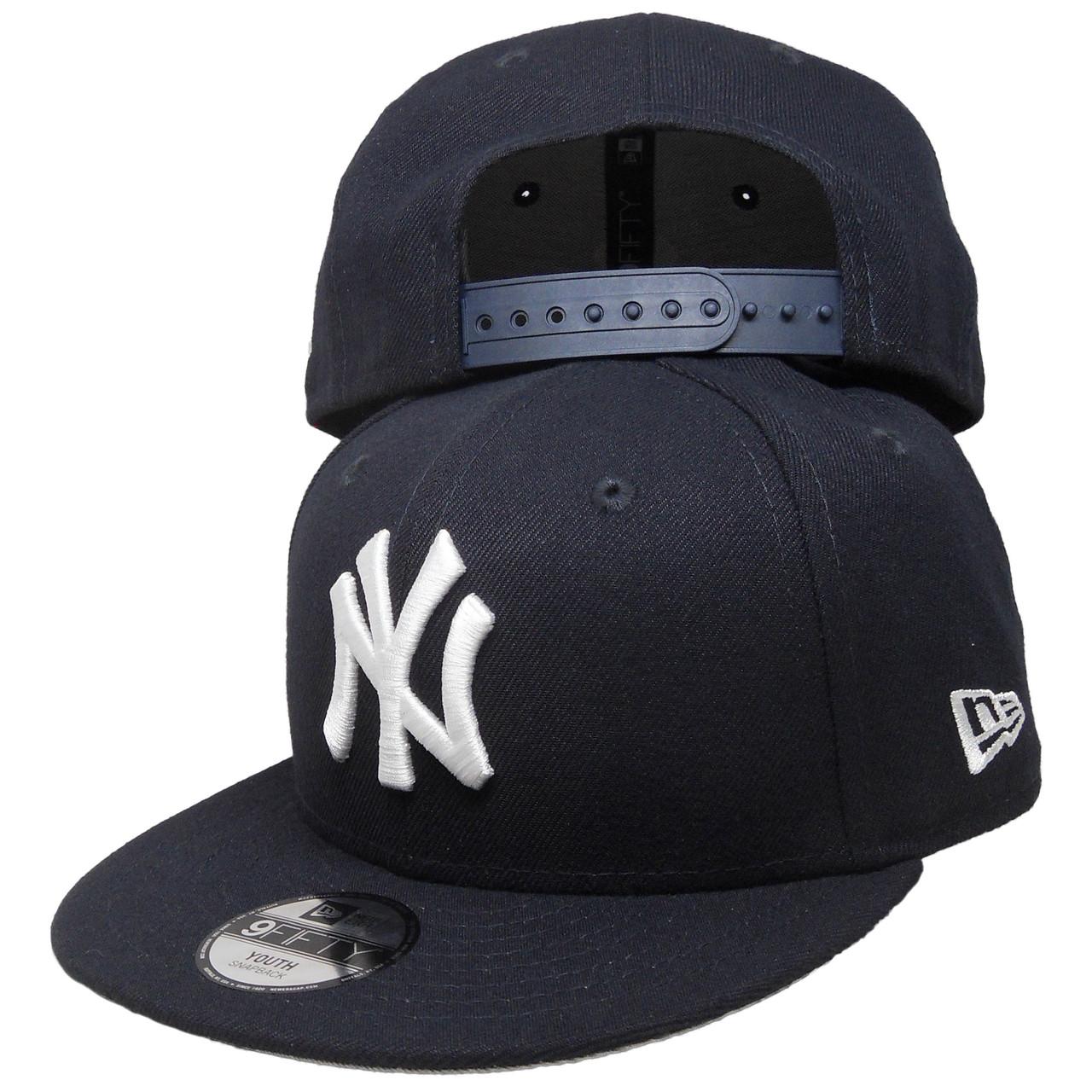 New York Yankees New Era Basic 9Fifty Kids Snapback Hat - Navy ... 59e794bfbc18
