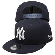 New York Yankees New Era Basic 9Fifty Kids Snapback Hat - Navy, White