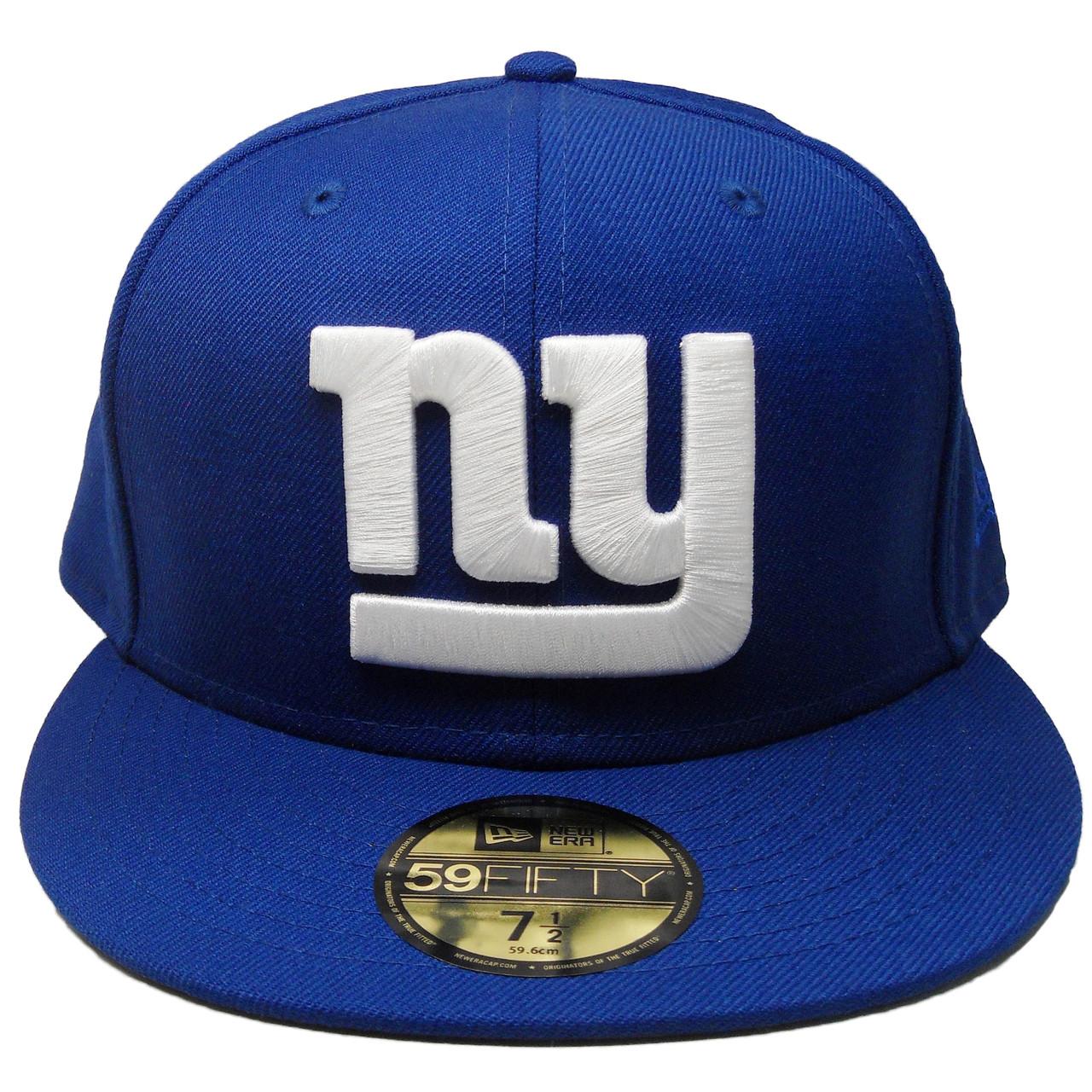 6759600c3c6 New York Giants New Era Custom New Era 59Fifty Fitted Hat - Royal ...