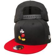 Disney Mickey Mouse New Era Custom KIDS 9Fifty Snapback - Black, Red, White