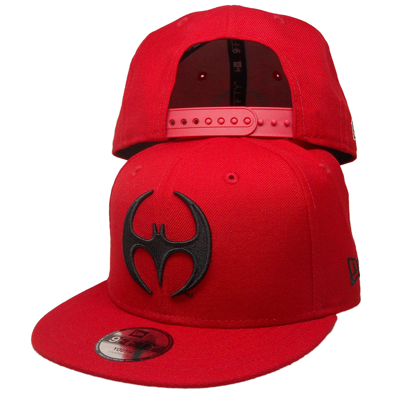 67b62306644 DC Comics Batman New Era Custom KIDS 9Fifty Snapback - Red