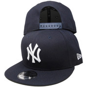 New York Yankees New Era Basic 9Fifty Snapback - Navy Blue, White