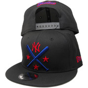 New York Yankees New Era Custom 9Fifty Snapback - Black, Royal, Red