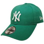 New York Yankees New Era 9Twenty Adjustable Hat - Kelly Green, White