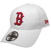 Boston Red Sox New Era Core Classic 9Twenty Adjustable Hat - White, Red, Navy
