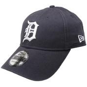 Detroit Tigers New Era Core Classic 9Twenty Adjustable Hat - Navy, White