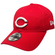 Cincinnati Reds New Era Core Classic 9Twenty Adjustable Hat - Red, White, Black