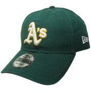 Oakland Athletics New Era 9Twenty Adjustable Hat - Green, White, Yellow