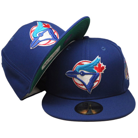 Toronto Blue Jays 93 WS New Era 59Fifty Fitted Hat - Blue, Red, White