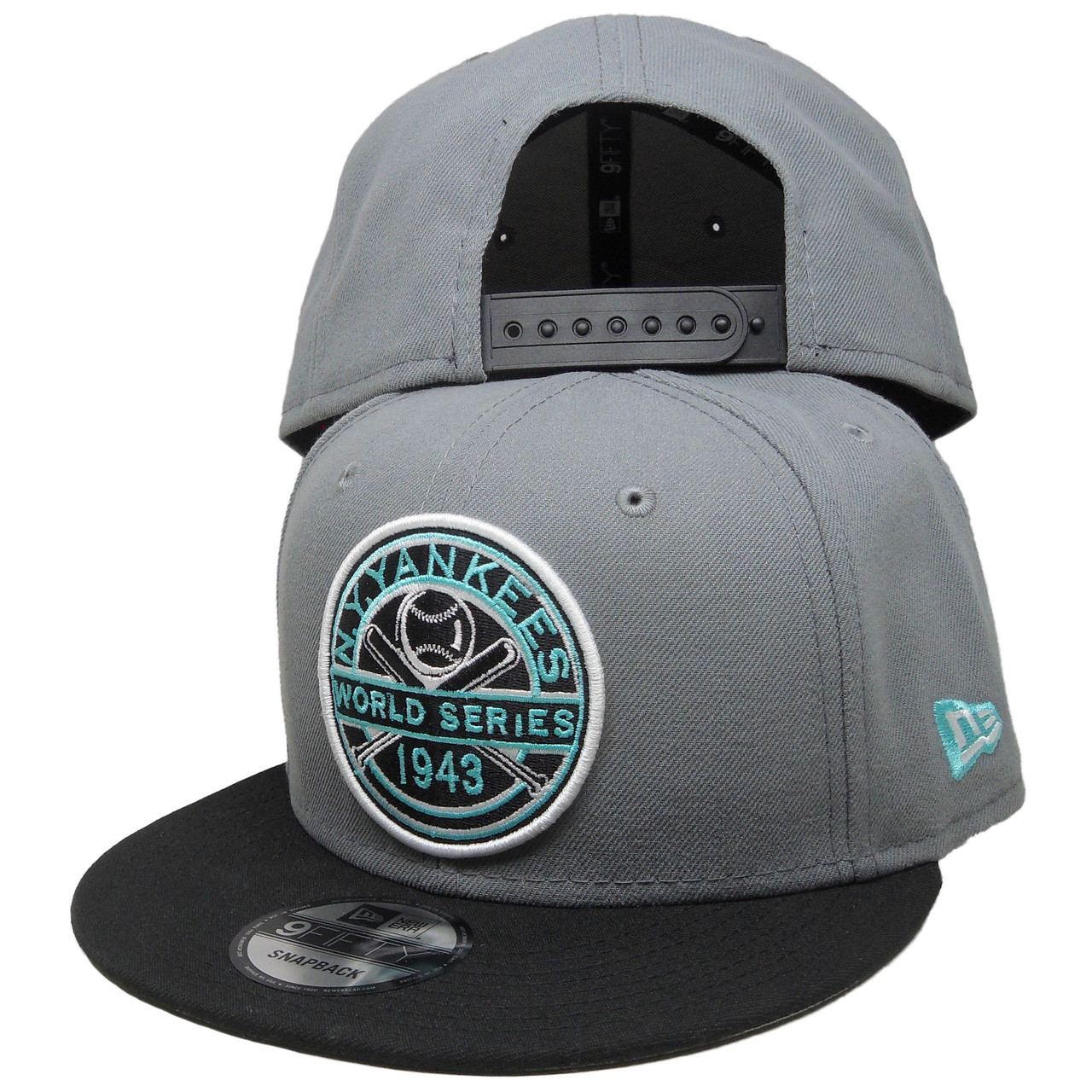 120c5164242 New York Yankees New Era Custom 43 WS 9Fifty Snapback - Gray