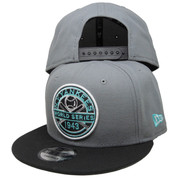 New York Yankees New Era Custom 43 WS 9Fifty Snapback - Gray, Black, Mint Green