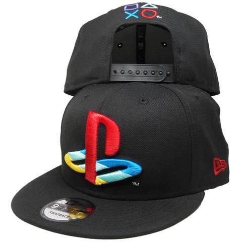 PlayStation New Era Custom 9Fifty Snapback - Black, Red, Blue, Green, Yellow