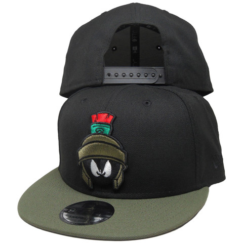 Marvin the Martian New Era Custom 9Fifty Snapback - Black, Olive, Red