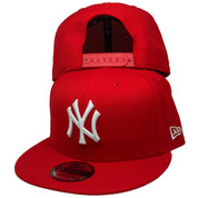 New York Yankees New Era Custom 9Fifty Snapback - Red, White, Silver