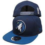 Minnesota Timberwolves 2Tone 9Fifty OF Snapback - Light Navy, Lake Blue, Gray