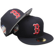 Boston Red Sox 2018 World Series Custom New Era 59Fifty Fitted - Navy, Red, White