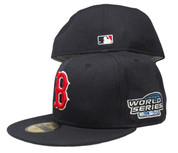 Boston Red Sox New Era 59Fifty Fitted Hat - Navy Blue, Red, White