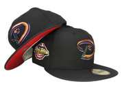 Arizona Diamondbacks New Era Fitted Hat WS2001 - Black, Copper, Teal, Purple