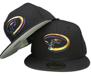 Arizona Diamond Backs New Era Classic Fitted - Black, Copper, Purple, Turquoise