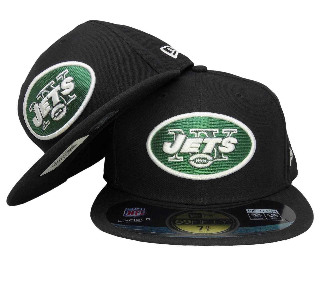 320b48e28b3 New York Jets New Era 59Fifty Onfield Fitted Hat - Black