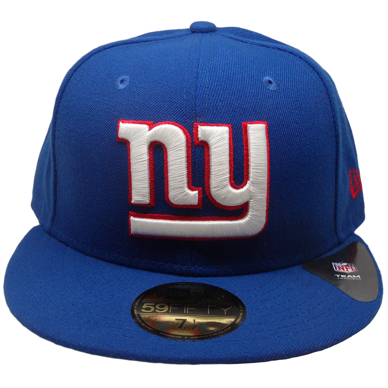 New York Giants New Era 59Fifty Onfield Fitted Hat - Royal Blue ... 85bd8c486