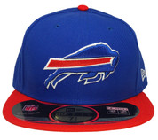 Buffalo Bills New Era 59Fifty Onfield Fitted Hat - Royal Blue, Red, White
