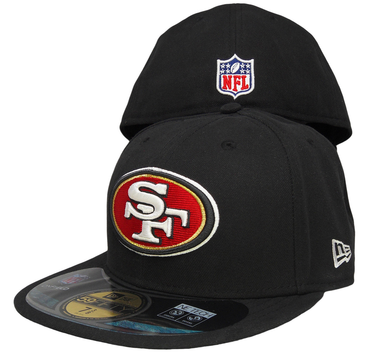 San Francisco 49ers New Era 59Fifty Onfield Fitted Hat - Black b8fab61d0