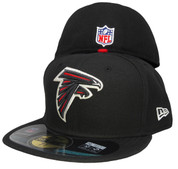 Atlanta Falcons New Era Onfield Game Fitted Hat - Black, Red, Silver, White