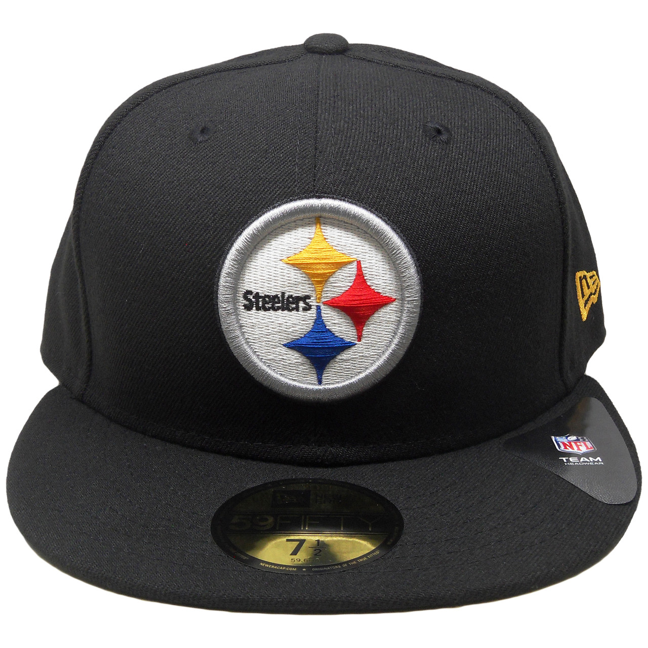 Pittsburgh Steelers New Era Classic Fitted Hat - Black c1705d0500a