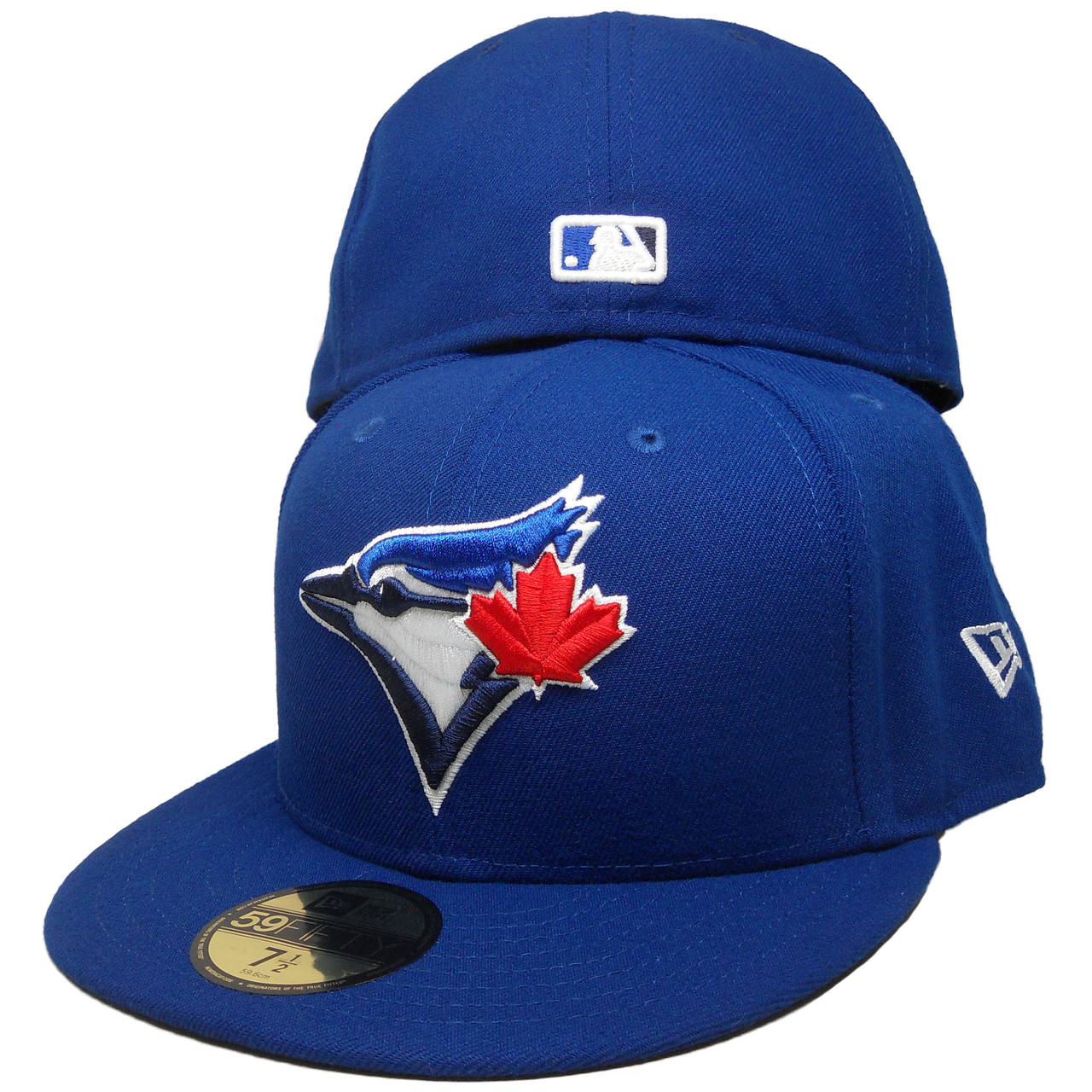 7ab40a69 Toronto Blue Jays New Era Onfield Official Fitted Hat - Bright Royal,  White, Red - ECapsUnlimited.com
