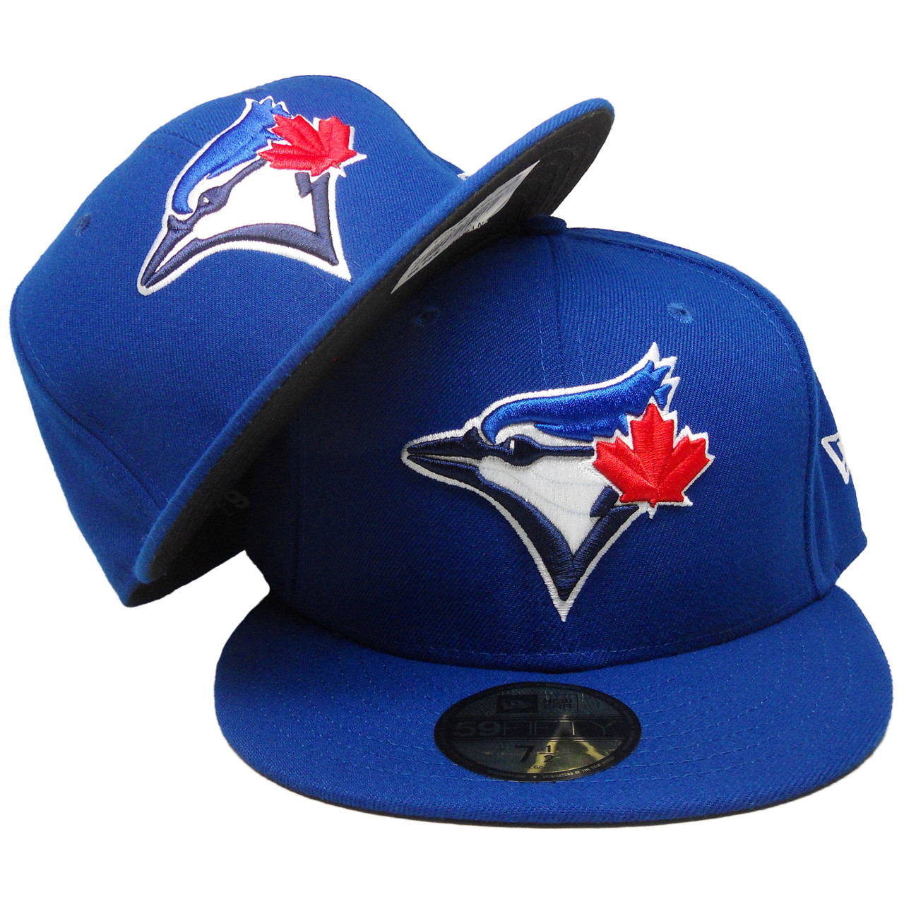 7d5ae6b4 Toronto Blue Jays New Era Onfield Official Fitted Hat - Bright Royal,  White, Red. Larger / More Photos