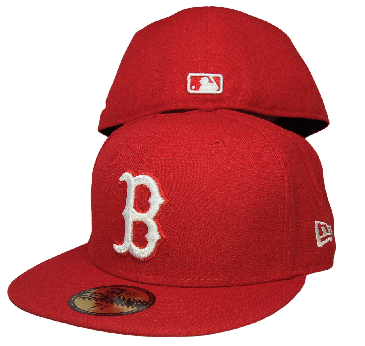 bf1597bf059 Boston Red Sox New Era 59Fifty Basic Fitted Hat - Red