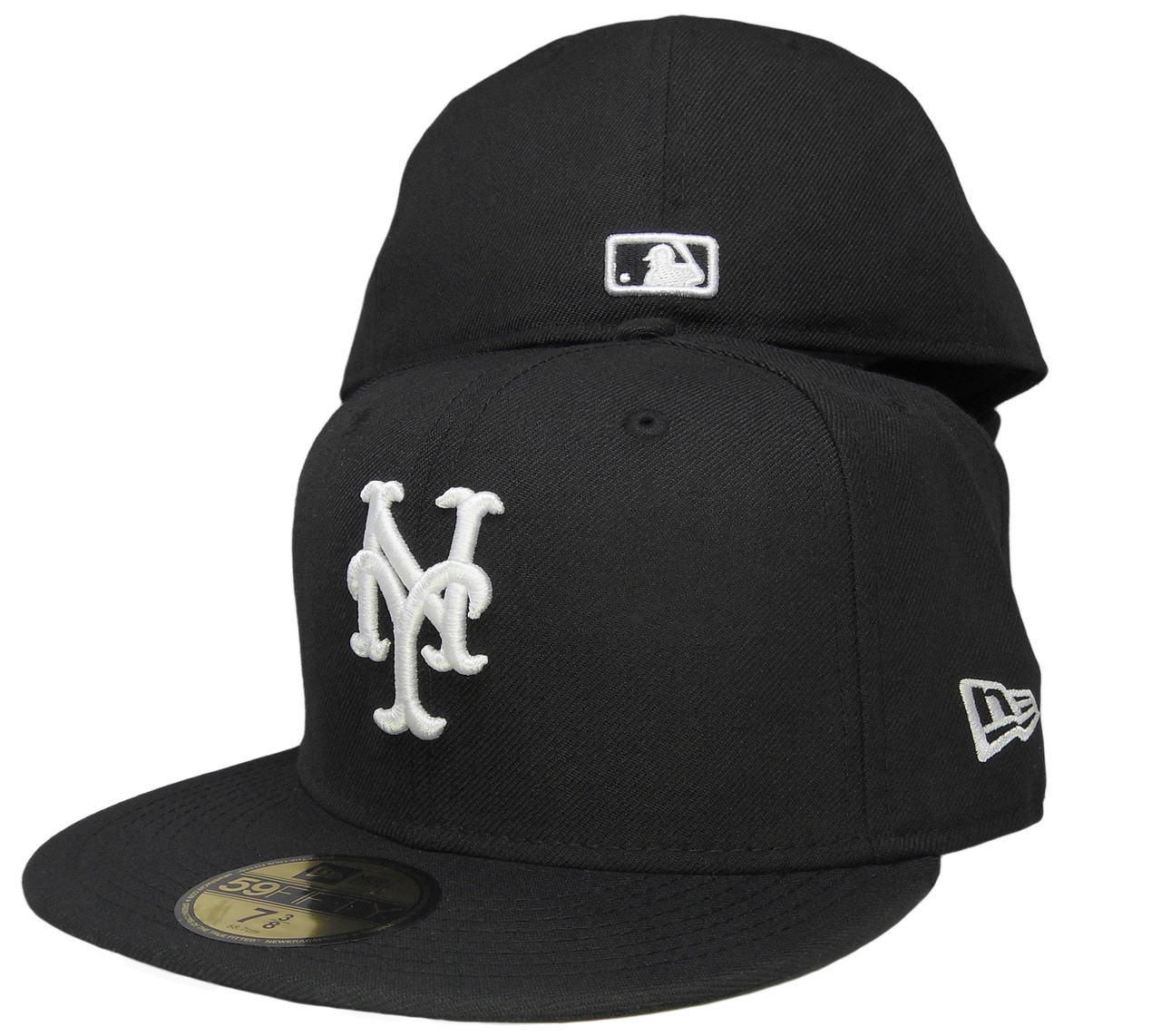a7669310d5691 New York Mets New Era 59Fifty Basic Fitted Hat - Black